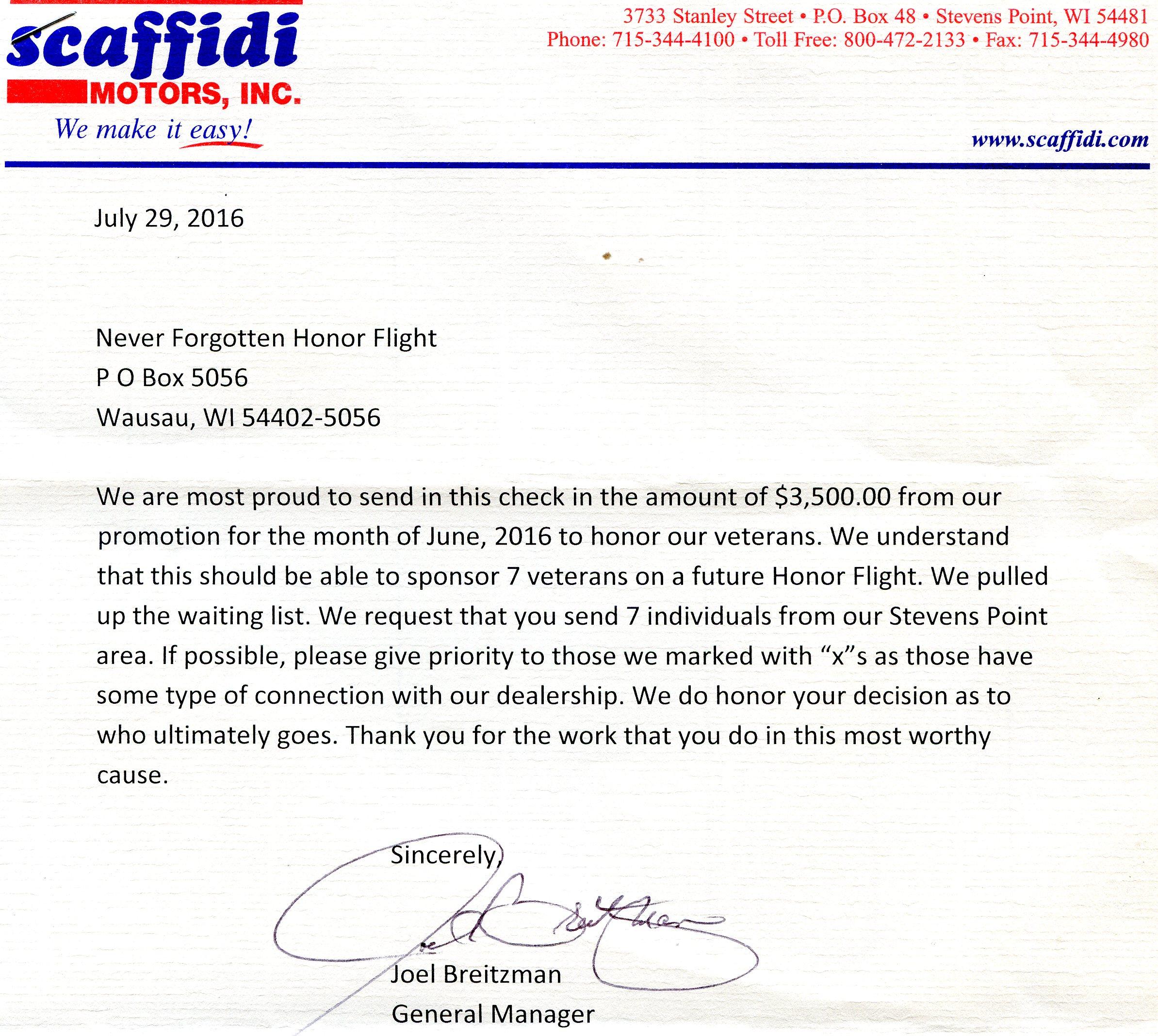 Flight 24 Never Forgotten Honor Flight