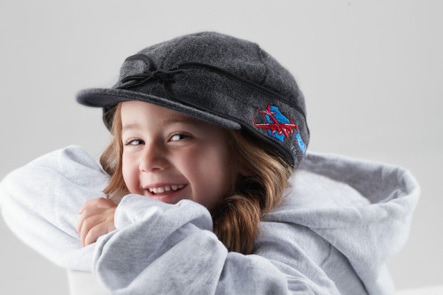 Stormy Kromer Hat - Charcoal